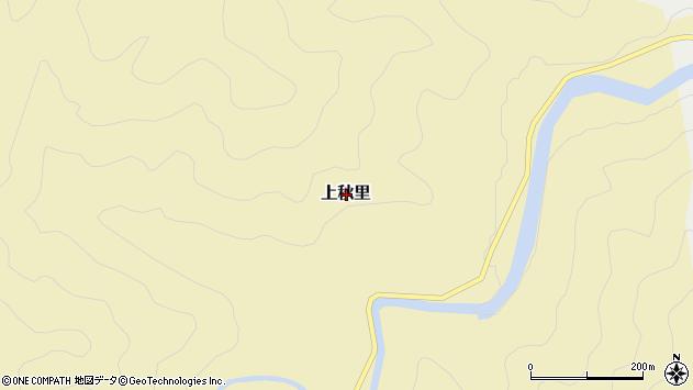 〒679-5644 兵庫県佐用郡佐用町上秋里の地図