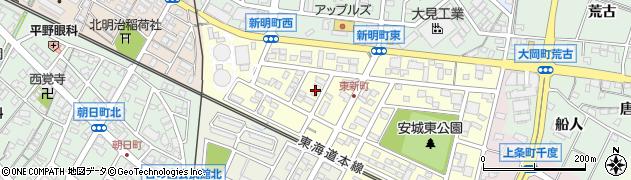 ユーズ周辺の地図