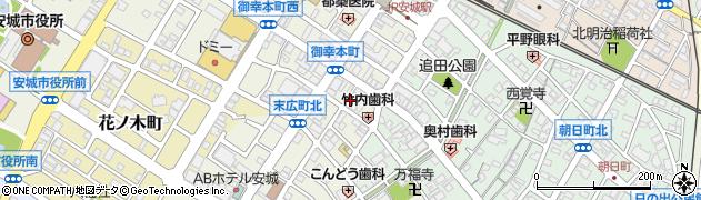 ひらり周辺の地図