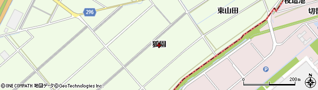 愛知県刈谷市小垣江町(狐園)周辺の地図