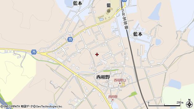 〒669-1341 兵庫県三田市西相野の地図