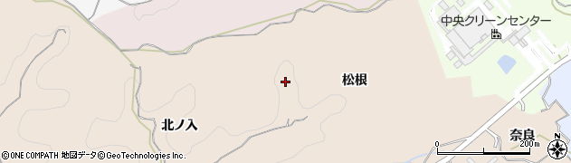 愛知県岡崎市高隆寺町(松根)周辺の地図