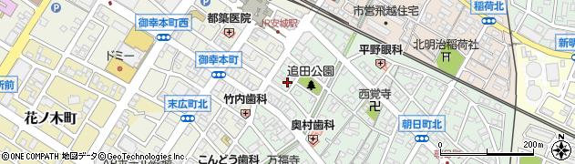 花恋周辺の地図