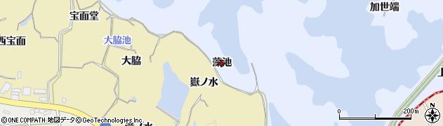 愛知県知多市佐布里(藻池)周辺の地図
