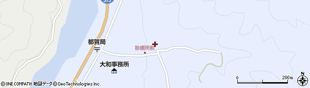 島根県美郷町(邑智郡)都賀本郷周辺の地図