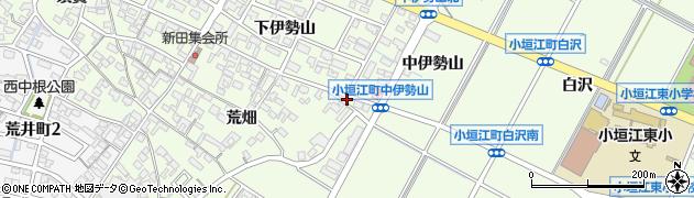 愛知県刈谷市小垣江町(若古竿)周辺の地図