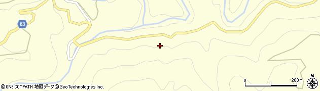藤枝天竜線周辺の地図