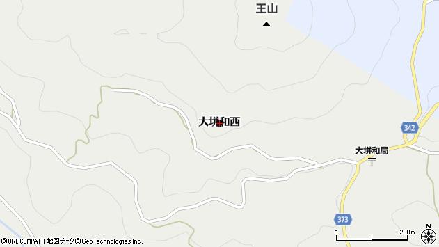 〒709-3726 岡山県久米郡美咲町大垪和西の地図
