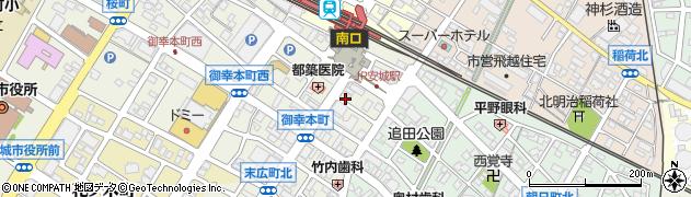 丸長周辺の地図