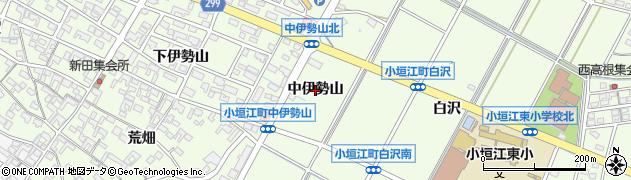 愛知県刈谷市小垣江町(中伊勢山)周辺の地図