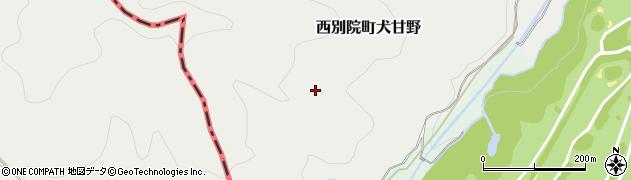 京都府亀岡市西別院町牧周辺の地図