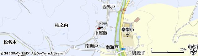 愛知県岡崎市才栗町(下屋敷)周辺の地図