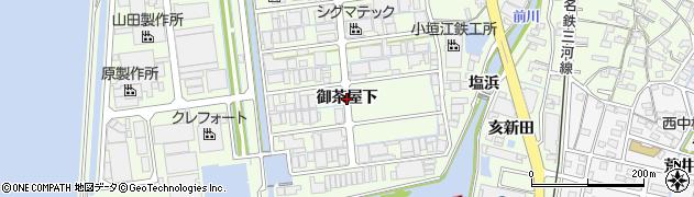 愛知県刈谷市小垣江町(御茶屋下)周辺の地図