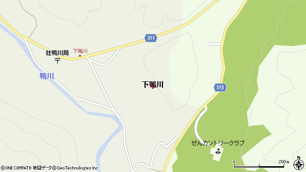 〒673-1403 兵庫県加東市下鴨川の地図