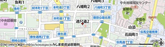 ぽにょん周辺の地図