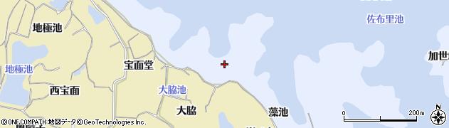 愛知県知多市佐布里(鼬脇)周辺の地図