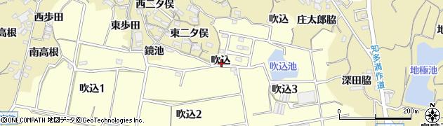 愛知県知多市岡田(吹込)周辺の地図