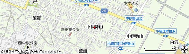 愛知県刈谷市小垣江町(下伊勢山)周辺の地図