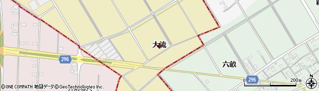 愛知県刈谷市野田町(大流)周辺の地図