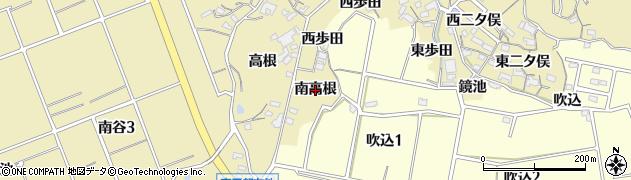 愛知県知多市岡田(南高根)周辺の地図