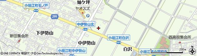 愛知県刈谷市小垣江町(北白沢)周辺の地図