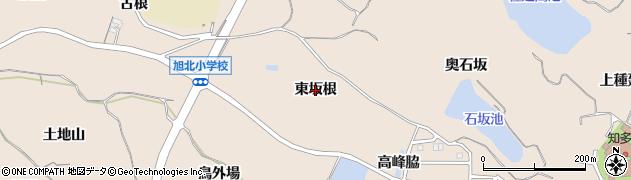 愛知県知多市日長(東坂根)周辺の地図