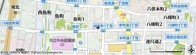 ZIPANG周辺の地図