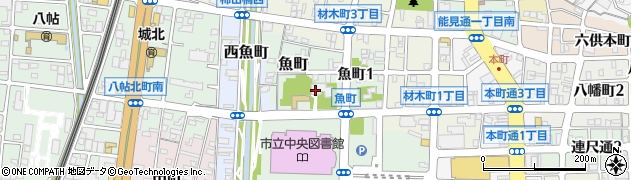 大林寺周辺の地図