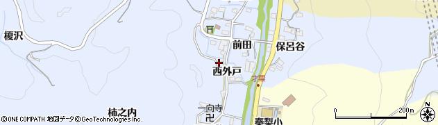 愛知県岡崎市才栗町(西外戸)周辺の地図