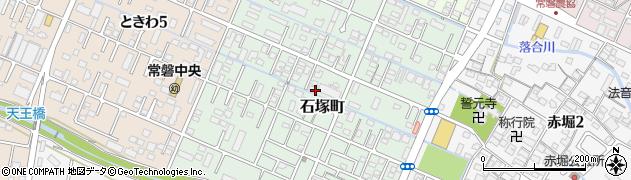 三重県四日市市石塚町周辺の地図