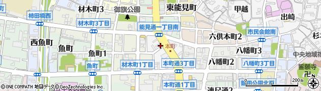 森ん家周辺の地図