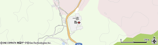 京都府亀岡市西別院町柚原(小原ケ谷)周辺の地図