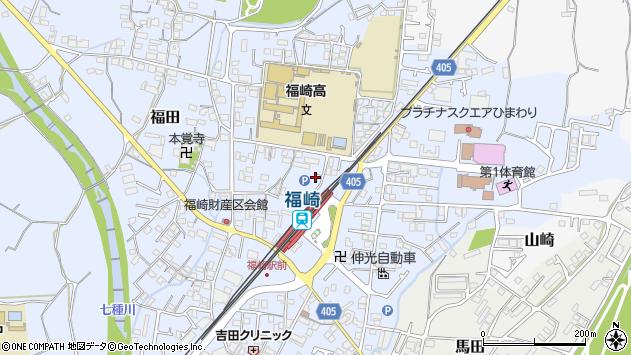 〒679-2212 兵庫県神崎郡福崎町福田の地図