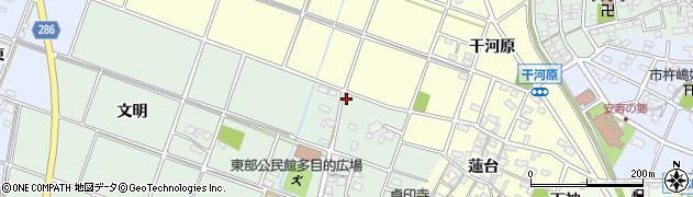 愛知県安城市大岡町(宮東)周辺の地図