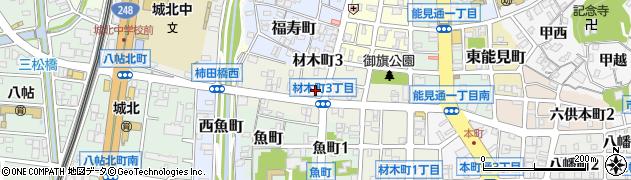 城北飯店周辺の地図
