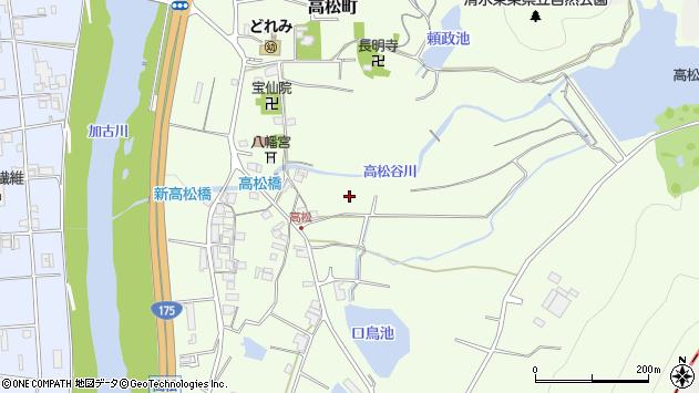 〒677-0055 兵庫県西脇市高松町の地図