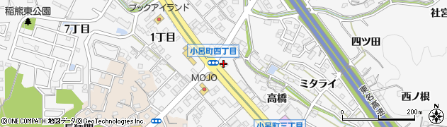 いちえ庵周辺の地図