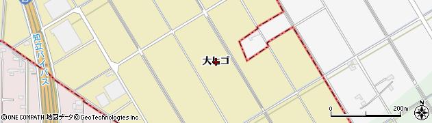 愛知県刈谷市野田町(大ヒゴ)周辺の地図