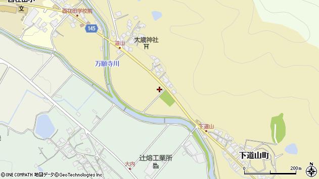 〒675-2454 兵庫県加西市下道山町の地図