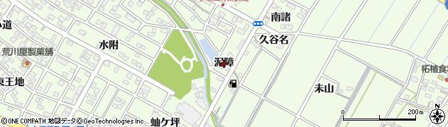愛知県刈谷市小垣江町(泥障)周辺の地図