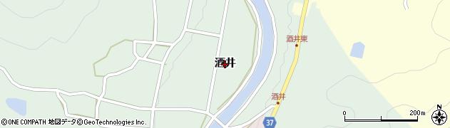 兵庫県三田市酒井周辺の地図