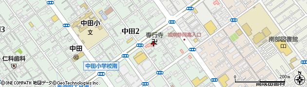 専行寺周辺の地図