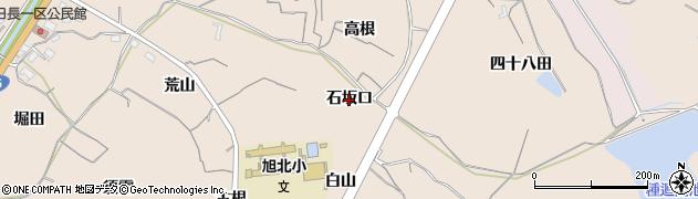 愛知県知多市日長(石坂口)周辺の地図