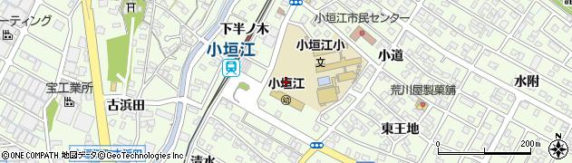 愛知県刈谷市小垣江町(西王地)周辺の地図
