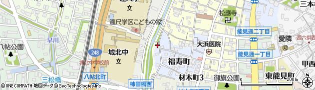 福寿稲荷神社周辺の地図