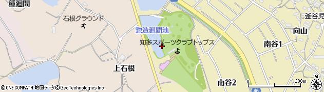 愛知県知多市岡田(惣造廻間)周辺の地図