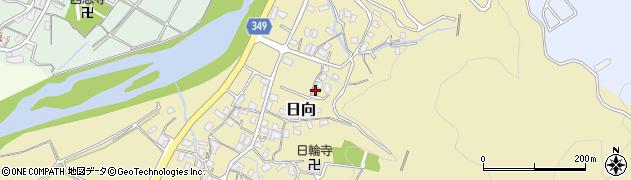 静岡県伊豆市日向周辺の地図