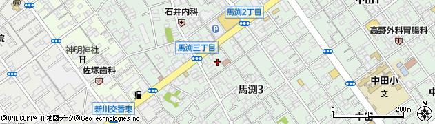 津島神社周辺の地図