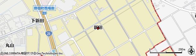 愛知県刈谷市野田町(新田)周辺の地図
