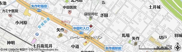 魚光本店周辺の地図